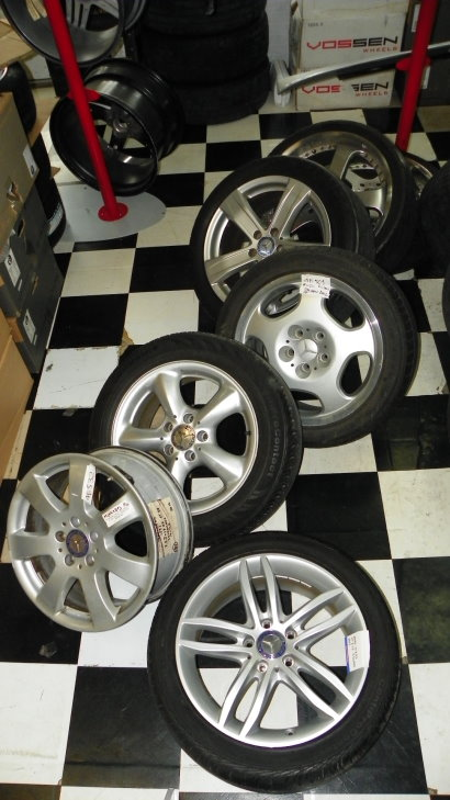 MERCEDES  WHEELS