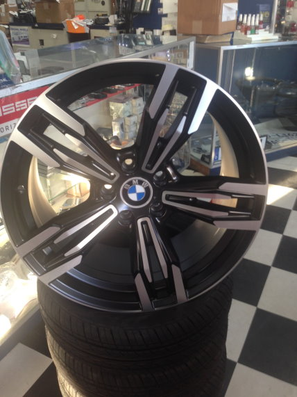 original wheels BMW  new style